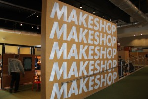 Makeshop wall