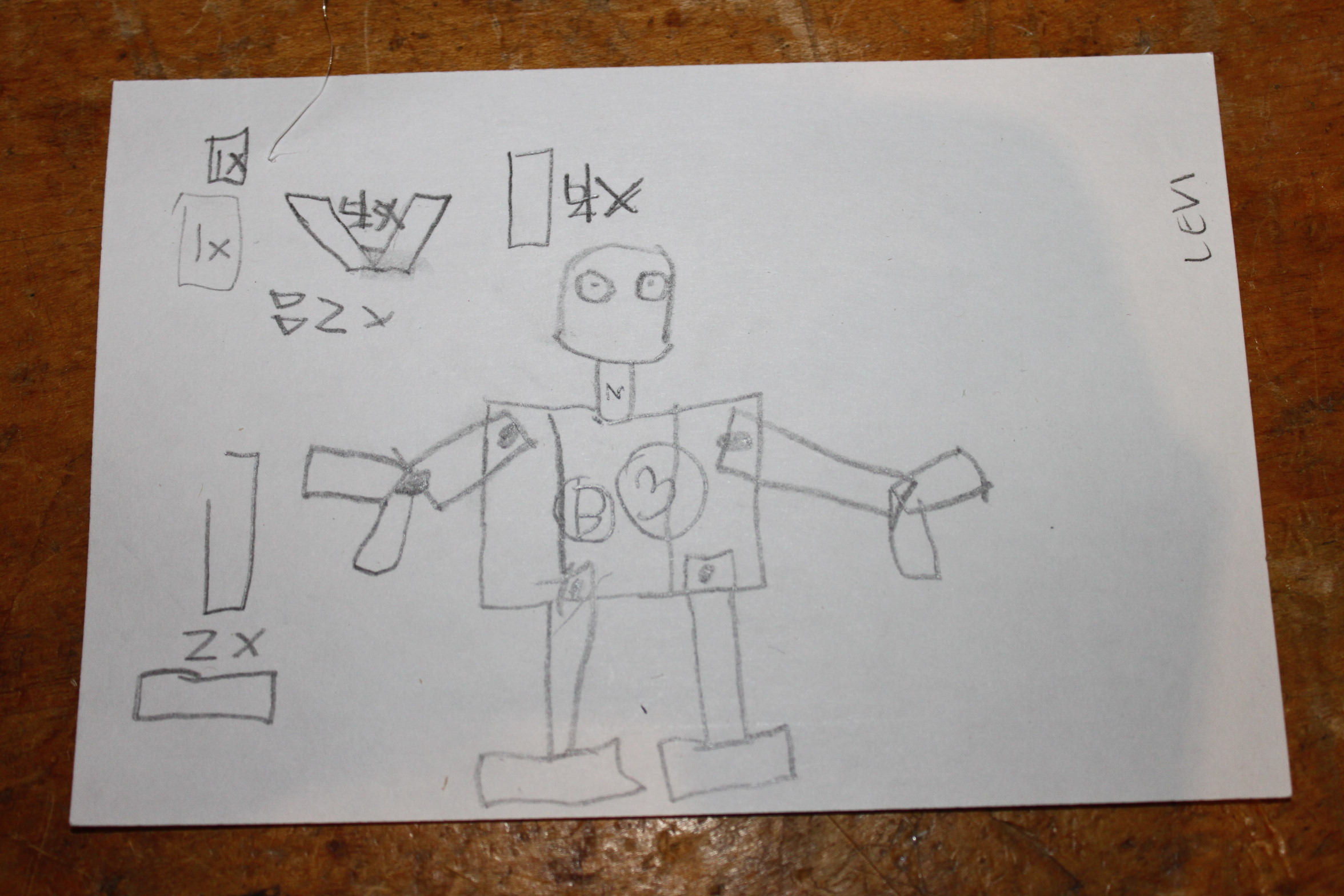 Makeshop robot fabrication while designing his robot levi was reminded of lego building kits and games in the world of toy building bricks projects are broken down into component malvernweather Gallery
