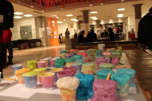Colorful Bath Bombs at MAKEnight